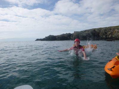 top sea-kayaking activity for kids snowdonia uk