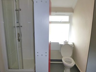west wing accommodation toilet