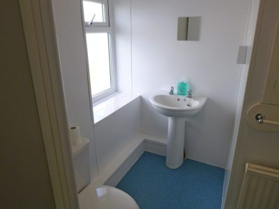 west wing toilet accommodation